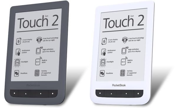 Čtečka elektronických knih PocketBook Touch Lux 2