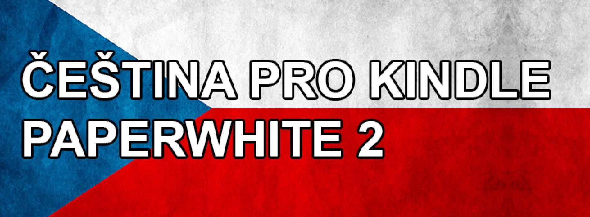 Čeština pro Amazon Kindle Paperwhite 2