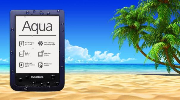 Vodotěsná ebook čtečka PocketBook Aqua