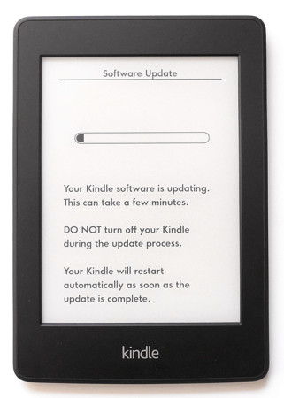 Aktualizace Kindle Paperwhite 2