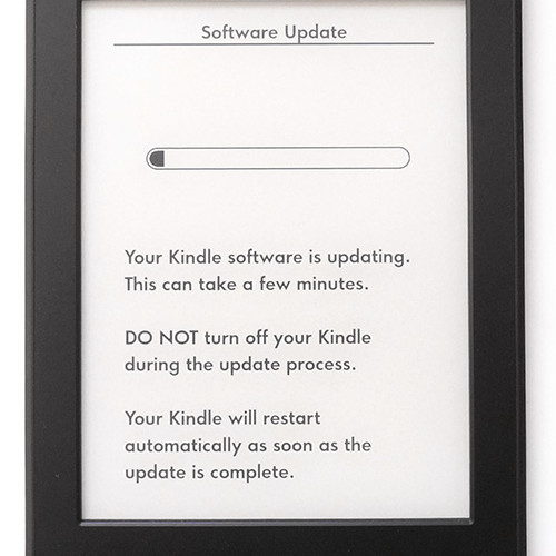 Amazon Kindle Paperwhite 2 – update firmware 5.4.5