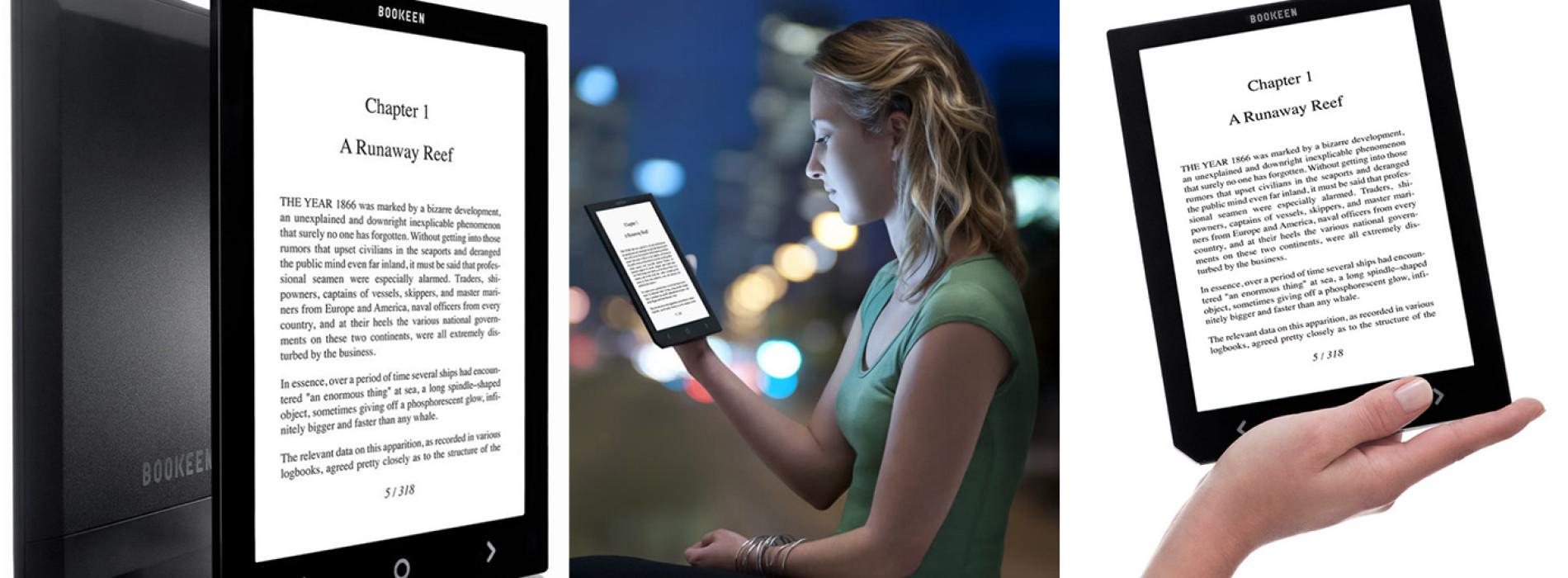 Bookeen Cybook Ocean – 8″ podsvícená ebook čtečka