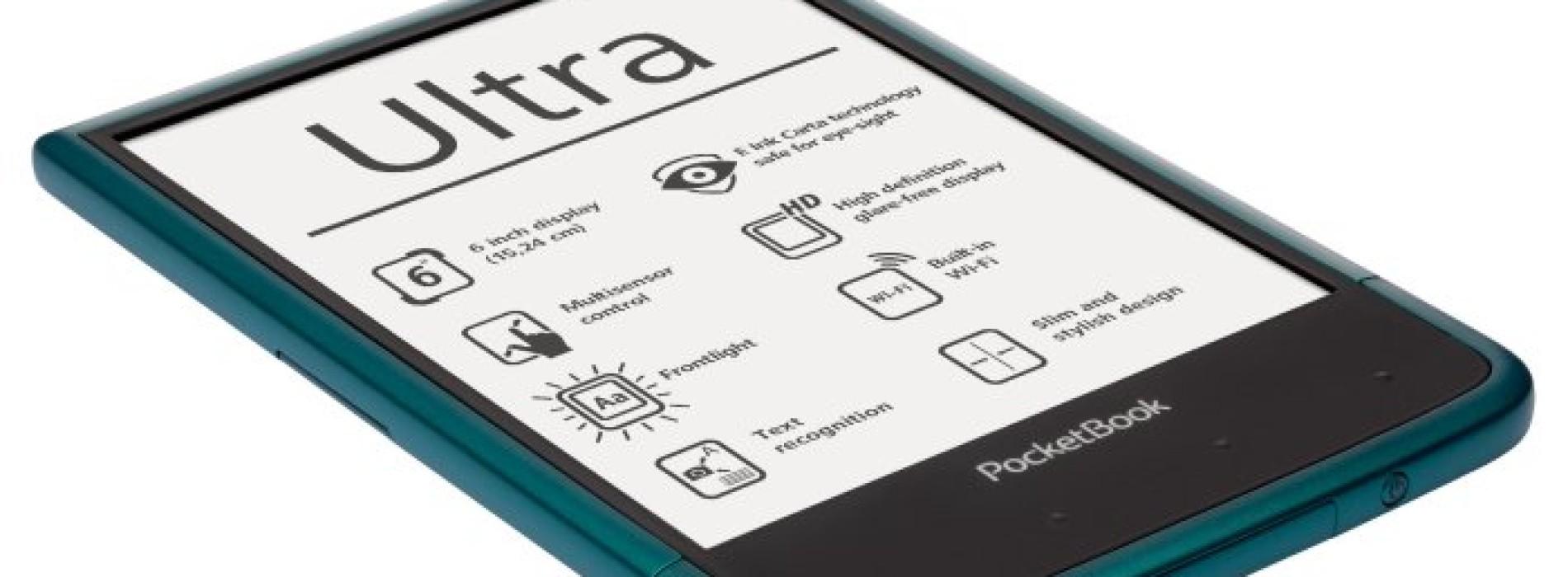 Další informace o PocketBook Ultra před uvedením na český trh