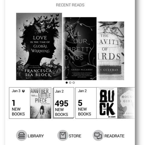 Nové uživatelské rozhraní pro čtečky PocketBook