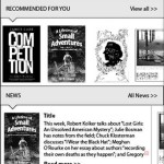 Nové uživatelské rozhraní čteček PocketBook