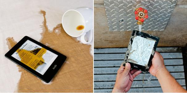 Vodotěsná čtečka Kindle Paperwhite 2