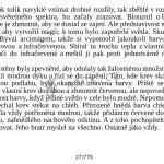 Kniha zobrazená na šířku displeje
