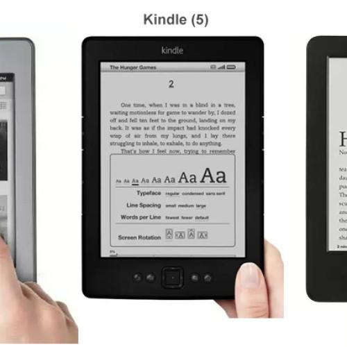 Nový Kindle 6 nakonec bez E-Ink Carta displeje
