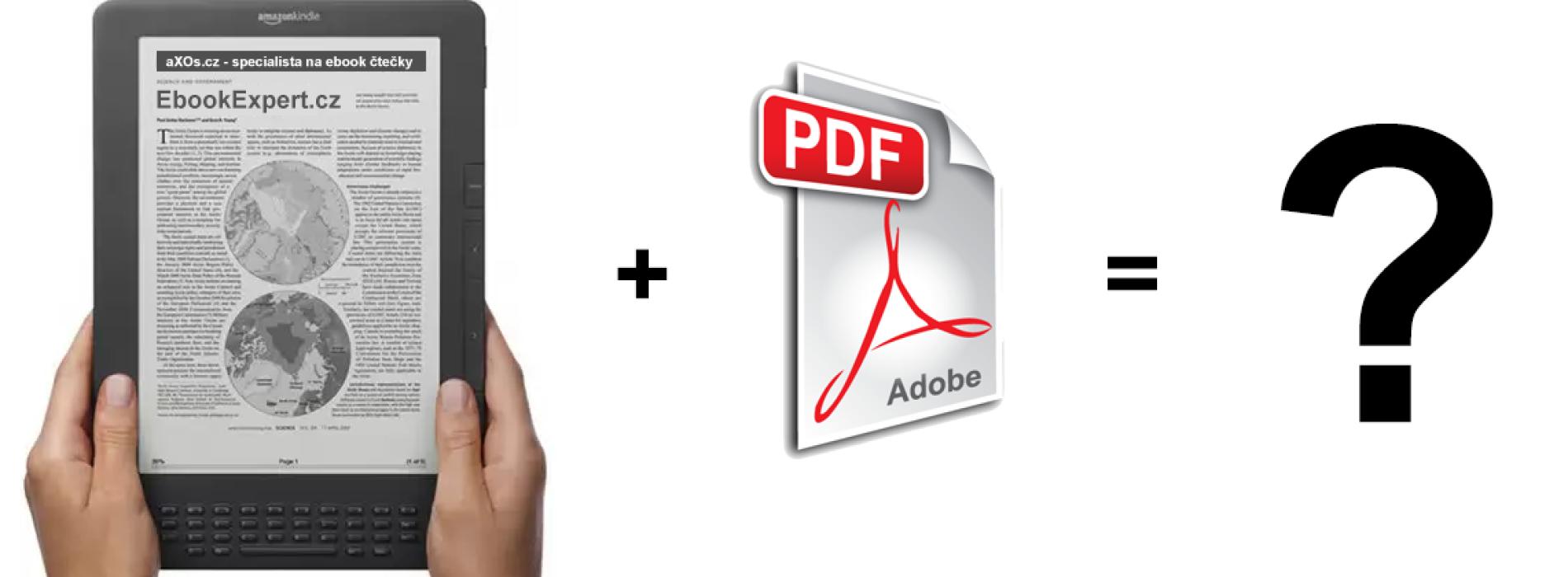 Jak číst PDF na ebook čtečkách