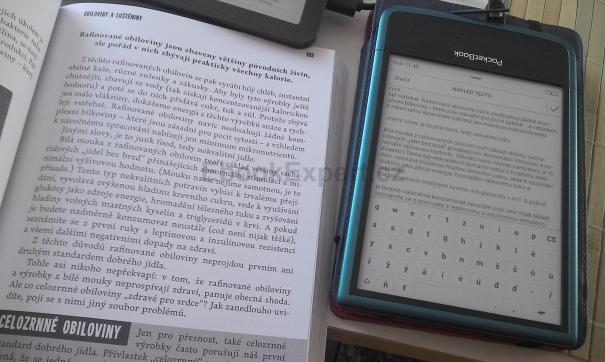 PocketBook Ultra - rozpoznání textu (OCR)
