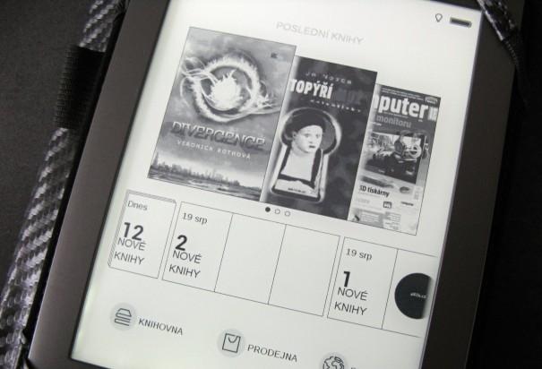 Nové uživatelské rozhraní na PocketBook Touch Lux 2 626