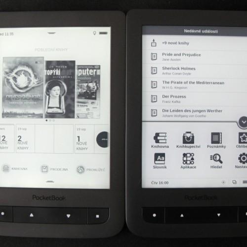 Nové uživatelského rozhraní pro PocketBook Touch Lux 2 (fw5)