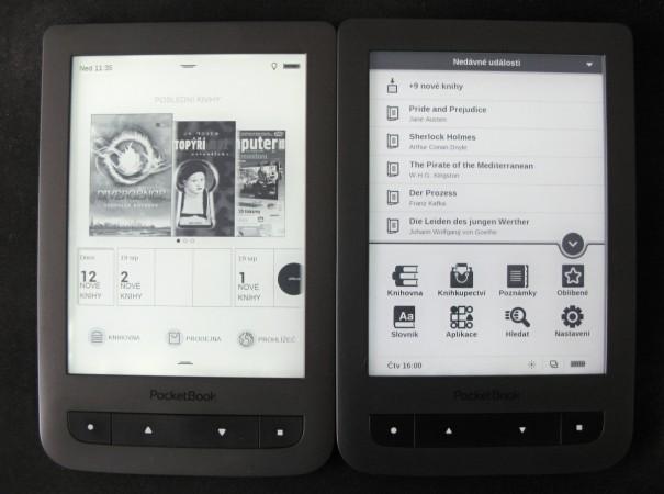Nové rozhraní pro čtečku PocketBook Touch Lux 2 zatím v betaverzi