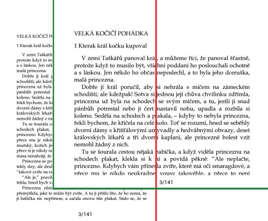 Výška x šířka u PDF