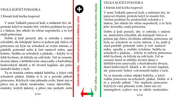 Zoom vs PDF reflow