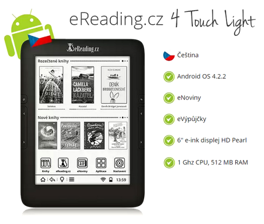eReading 4 Touch Light