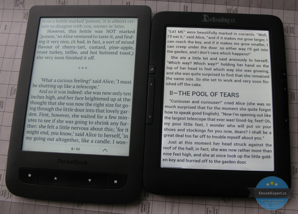 PocketBook Touch Lux 2 vs eReading 4 Touch Light
