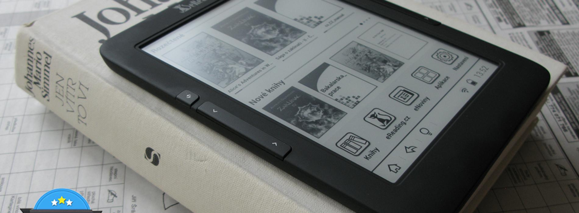 Recenze ebook čtečky eReading 4 Touch Light