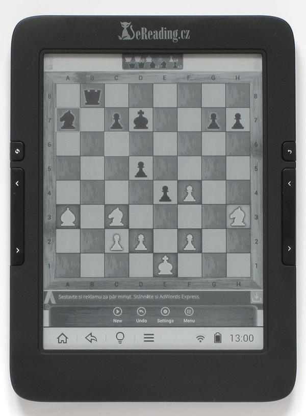 Doinstalovaná hra šachy pro Android