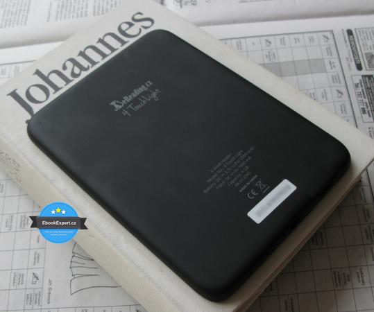 Ebook čtečka eReading 4 Touch Light - zadní strana