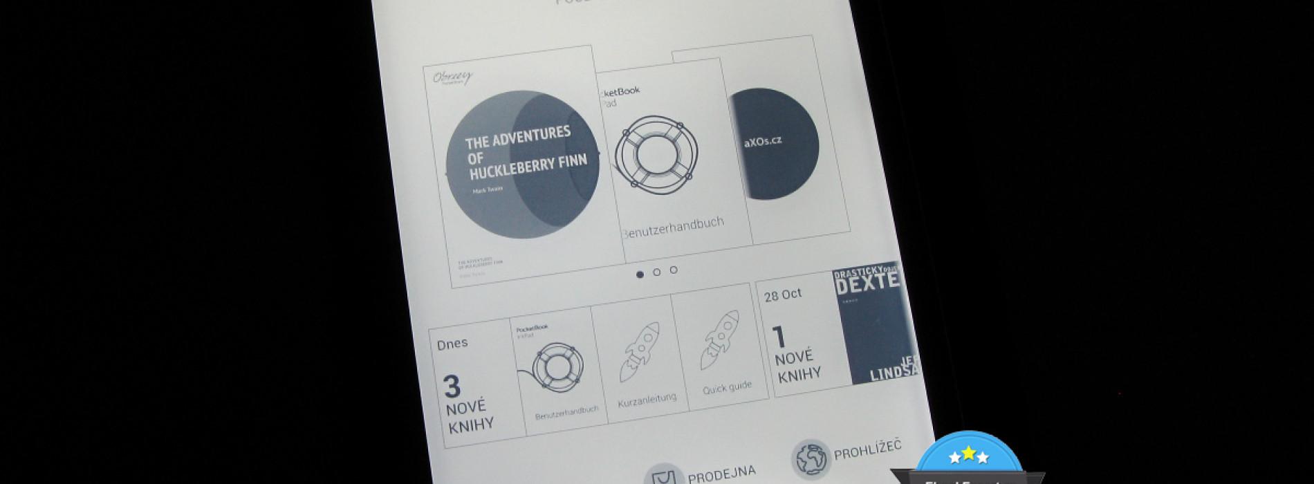 Nové uživatelské rozhraní pro PocketBook Inkpad 840 – update firmware