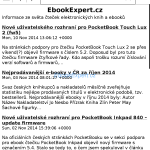 PocketBook Inkpad - RSS čtečka