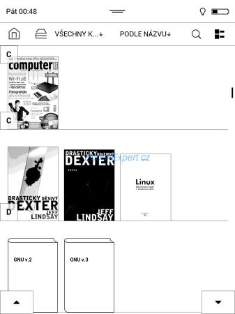 PocketBook Inkpad - Knihovna