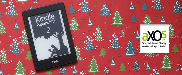 Amazon Kindle Paperwhite 2 - vánoční dárek