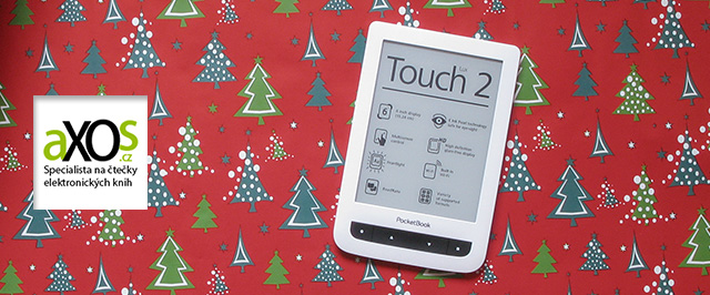 PocketBook Touch Lux 2 626 - vánoční dárek