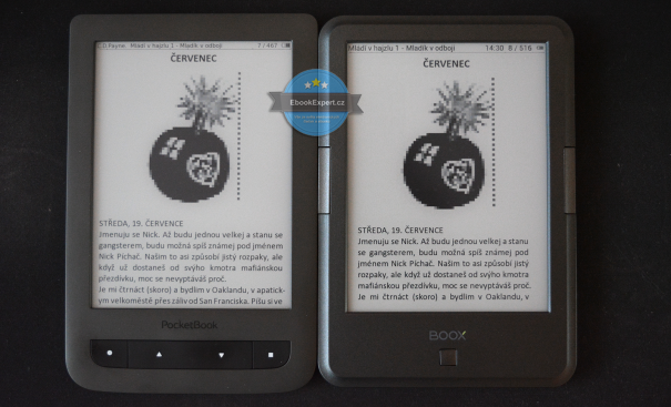 Coolreader: PocketBook Touch Lux 2 vs Onyx Boox  AfterGlow 2
