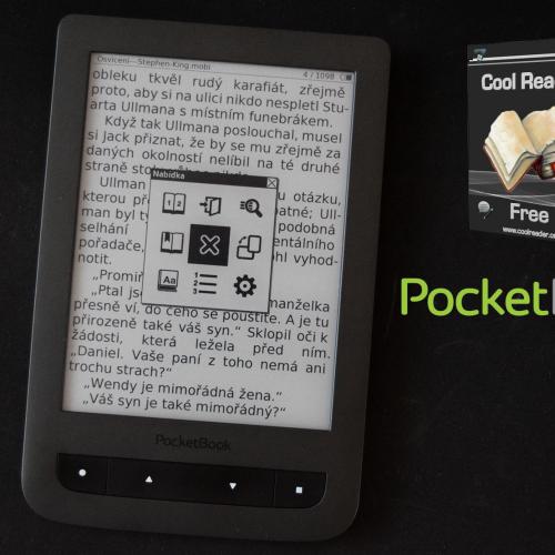 CoolReader 3 opět ve čtečkách PocketBook (pro fw 5.x)