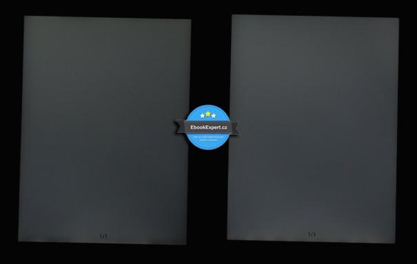 Používá Sense vlevo méně LED diod?