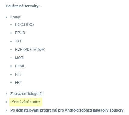 Mall - špatný popisek u čtečky eReading.cz 4 Touch Light