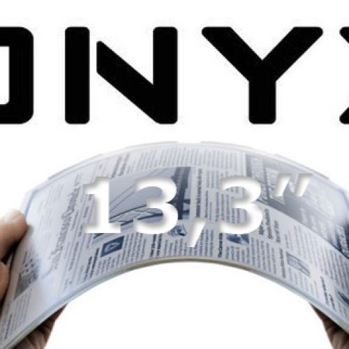Onyx vyvíjí ebook čtečku s 13,3″ displejem