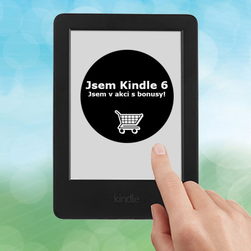Super akce na ebook čtečku Amazon Kindle 6 Touch