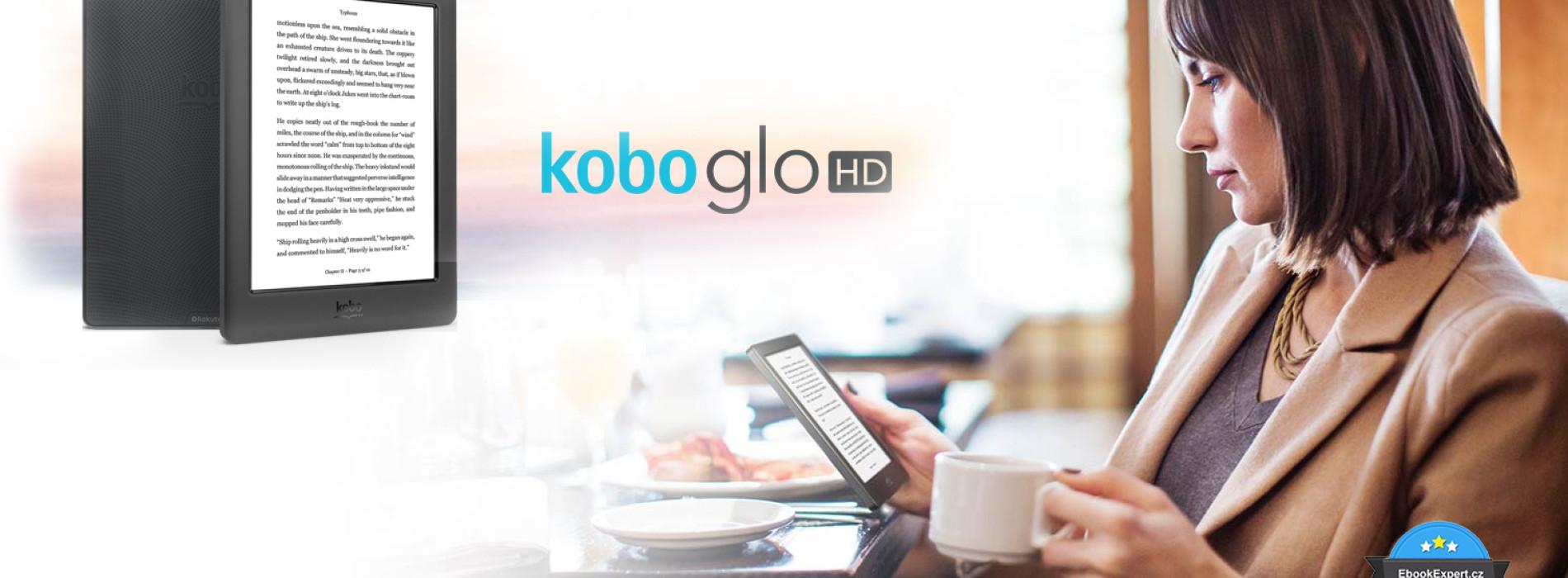Kobo Glo HD – další ebook čtečka s E-Ink Carta a 300ppi