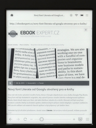 Čtečku Kobo můžete s klidem použít na prohlížení ebookexpert.cz :-)