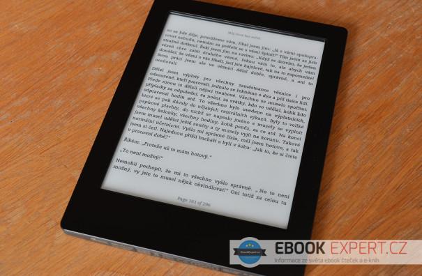 Kobo Aura H2O - vodotěsná čtečka elektronických knih
