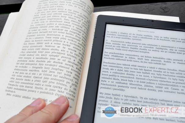Kobo Aura H2O a klasická kniha