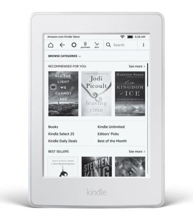 Kindle Paperwhite 3 2016 bílá