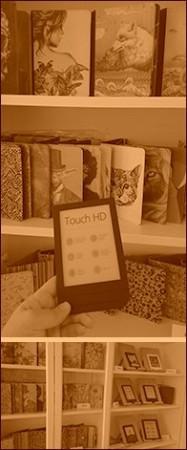 Prodejna e-book čteček