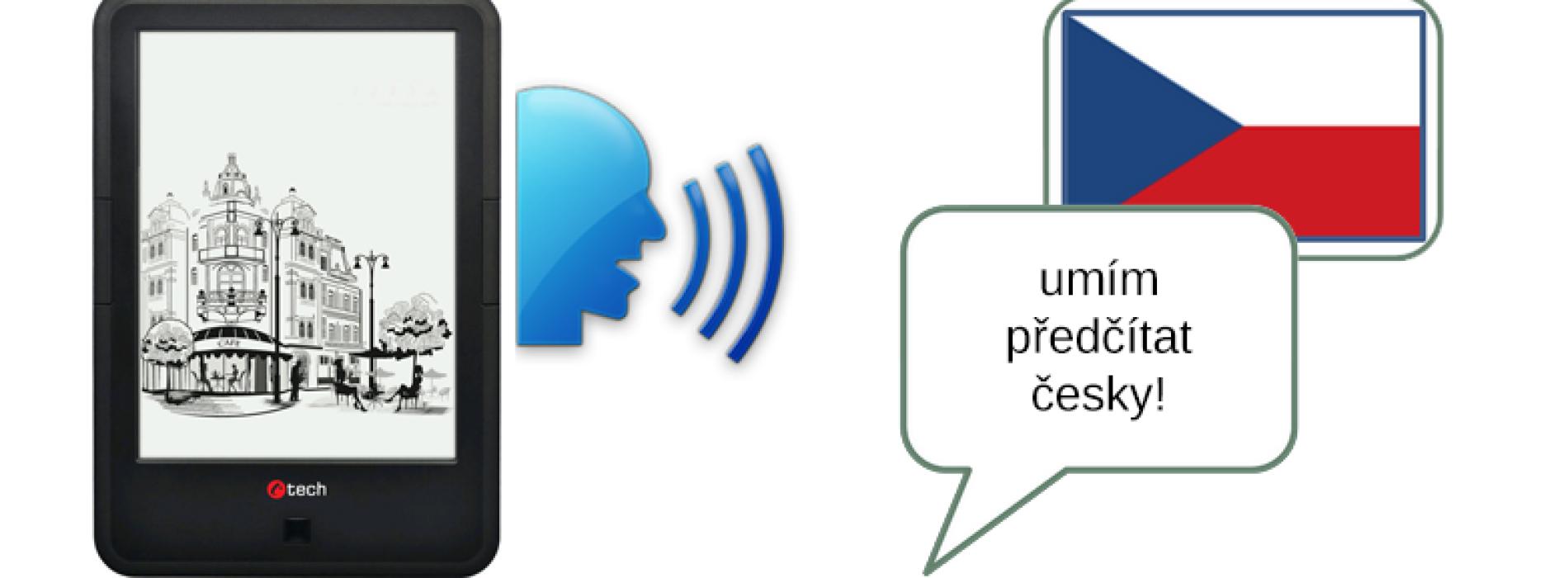 E-book čtečka s českým předčítáním – C-Tech Lexis