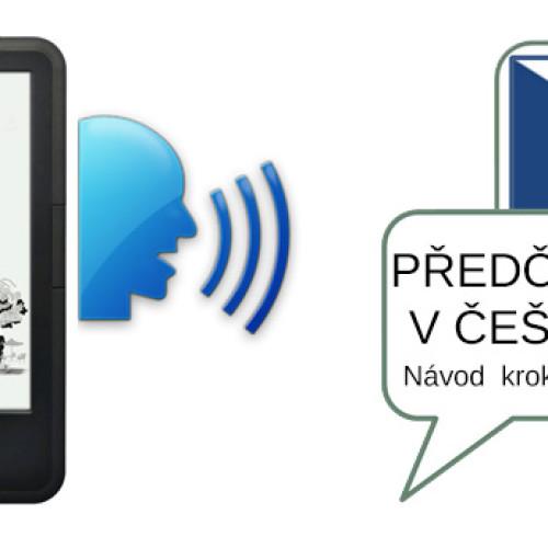 Jak nainstalovat české předčítání do čtečky C-Tech Lexis