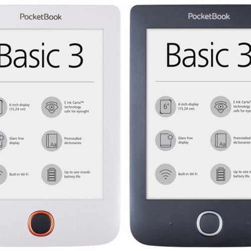 Nová čtečka Pocketbook Basic 3
