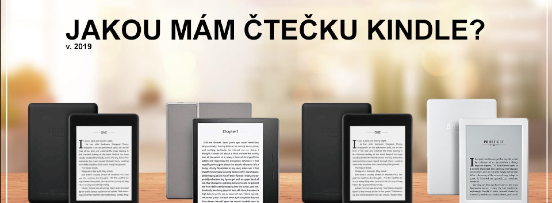 Jakou máte e-book čtečku Amazon Kindle?