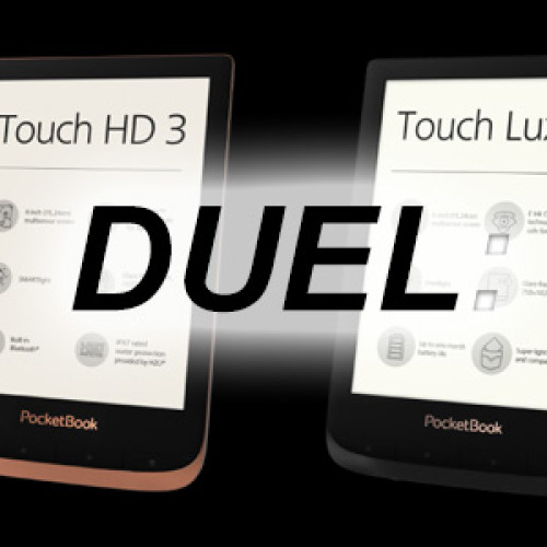 DUEL: Pocketbook Touch Lux 4 627 vs Pocketbook Touch HD3 632