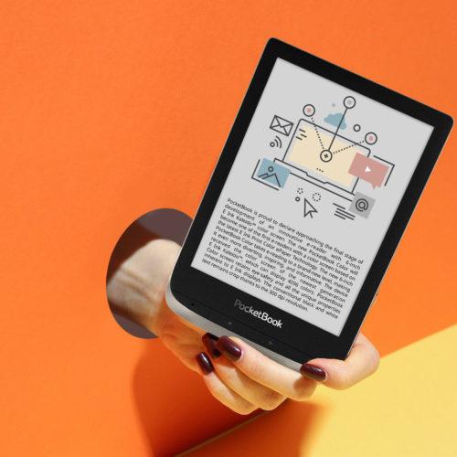 Čtečka s barevným displejem – Pocketbook Color